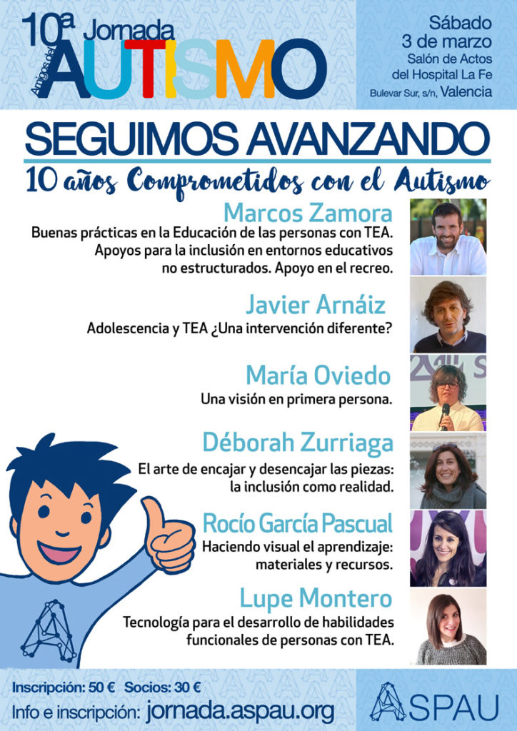 Cartel 10ª Jornada ASPAU